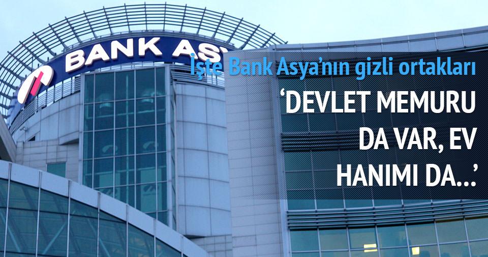 İşte Bank Asya'nın gizli ortakları