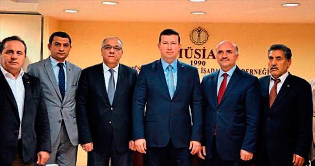 SGK'dan MÜSİAD İzmir'e hayırlı olsun ziyareti