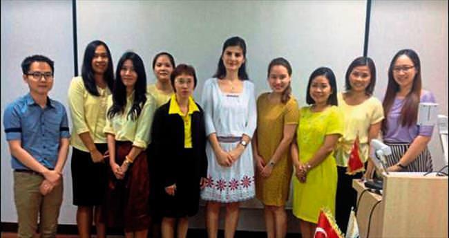 Çukurova'nın hocaları yabancılara ders verdi