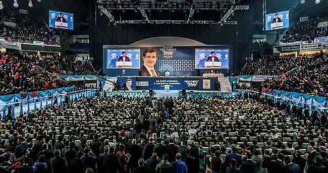 AK Parti kongresinde Erdoğan sürprizi