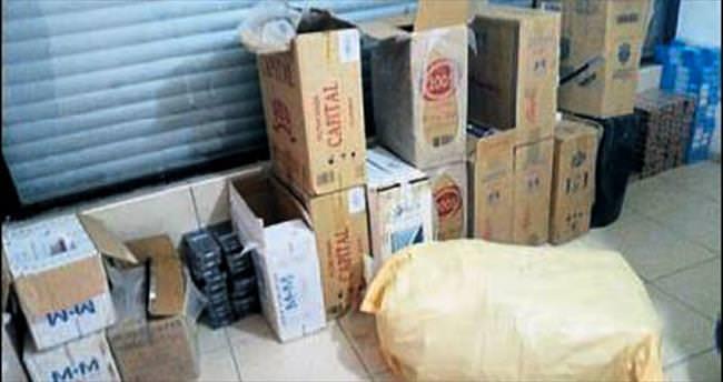145 bin paket kaçak sigara ele geçirildi