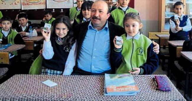 Alaşehir üzümü artık okullarda