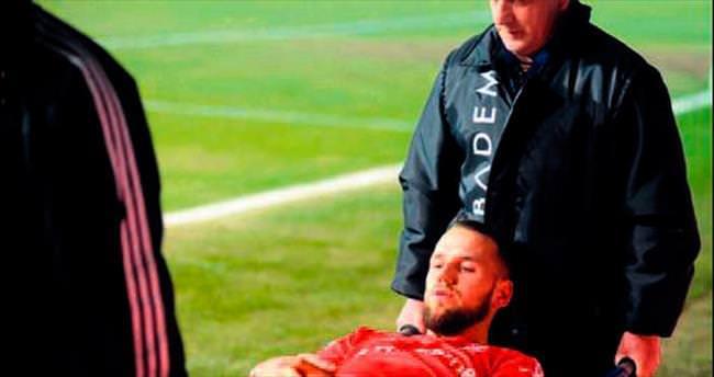 Milosevic'in ayağında vida varmış!
