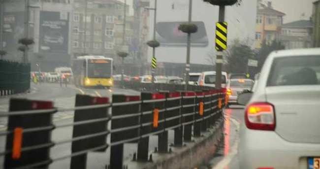Tatil bitti trafik felç