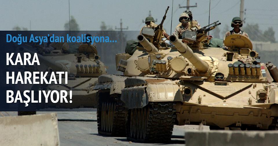 IŞİD'e kara harekatı başlıyor