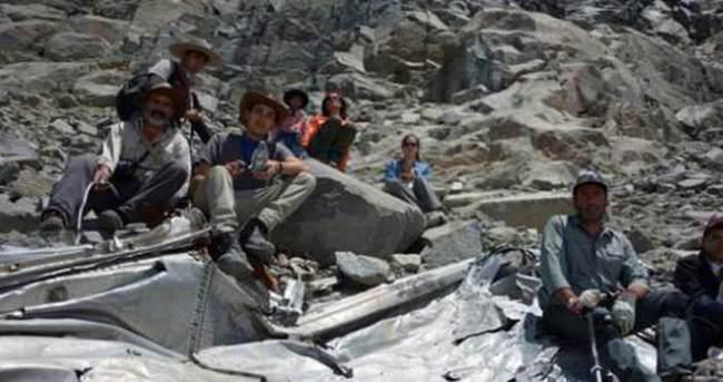 54 yıl önce kaybolan uçak bulundu!