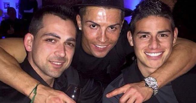 Ronaldo, hezimetten sonra parti verdi