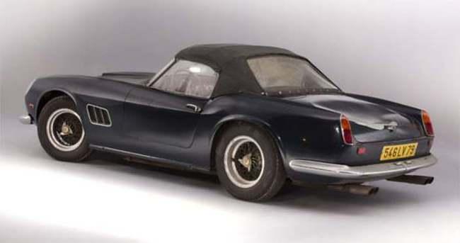 Klasik Ferrari rekor fiyata satıldı
