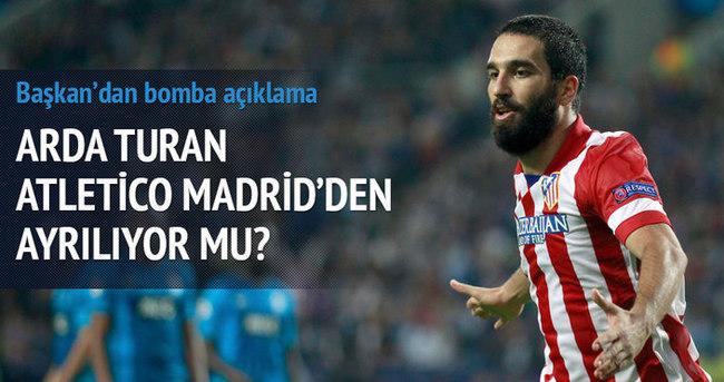 Arda Turan Atletico'dan ayrılıyor mu?