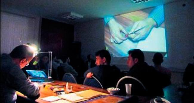 Almanya'da hat ve kaligrafi konferansı