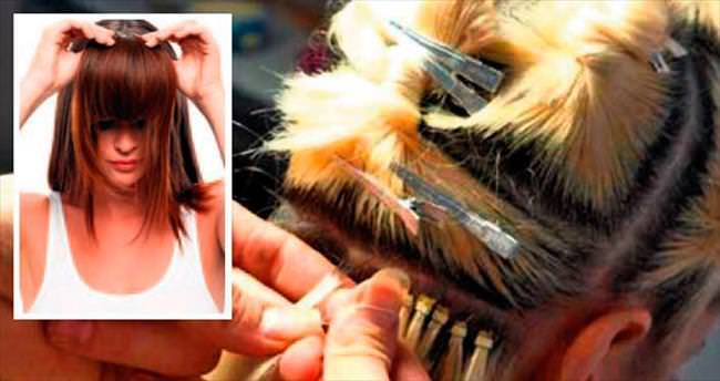 100 gram saç 2 bin 500 lira