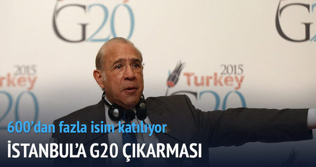 İstanbul'a G20 çıkarması