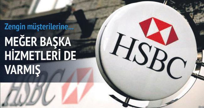 HSBC vergi kaçırma E hizmeti de vermiş