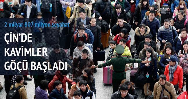 Çin'de 'kavimler göçü' başladı