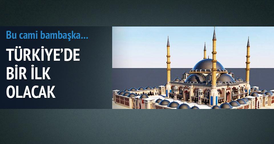İşte Türkiye'nin ilk cam kubbeli camisi