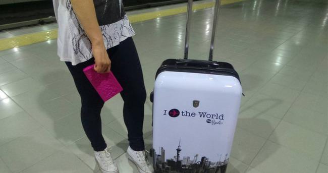 Tatilciler valize rekor sığdırdı
