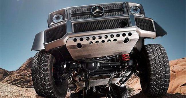 Mercedes piyasaya 6×6 sundu