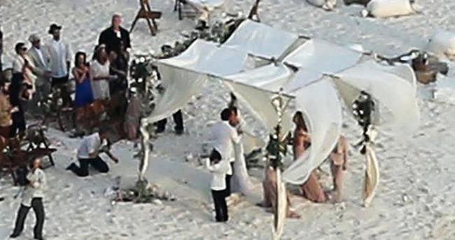 Johnny Depp ile Amber Heard'ın düğün fotoğrafları basına sızdı