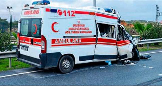 Ambulans şoförüne tazminat davası