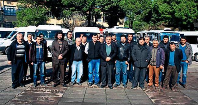 Tireli servisçilerden Büyükşehir'e tepki