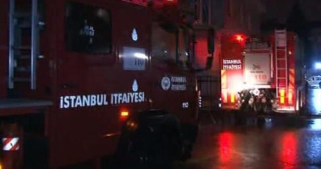 GATA Askeri Hastanesi'nde yangın çıktı