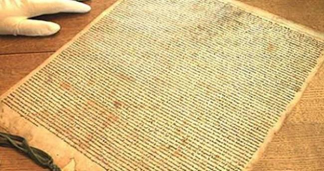 Magna Carta'nın 700 yıllık kopyası bulundu