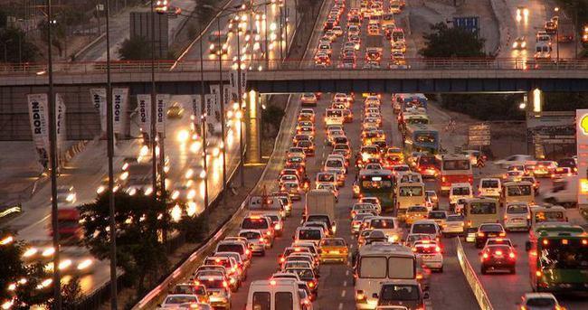 Trafikteki araç sayısı belli oldu