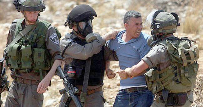 İsrail 13 Filistinliyi gözaltına aldı