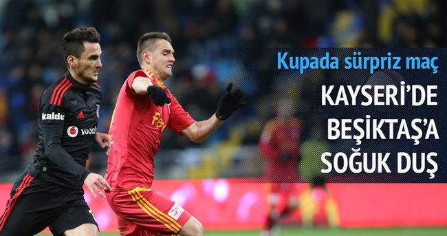 Beşiktaş'a şok! Kupaya veda ettiler