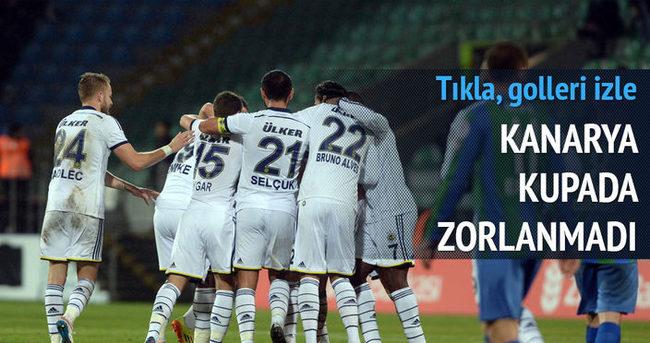 Fenerbahçe kupada zorlanmadı
