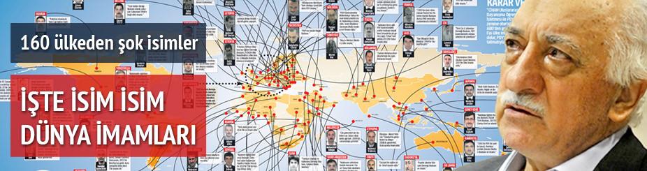 İşte Paralel Yapı'nın dünya imamları