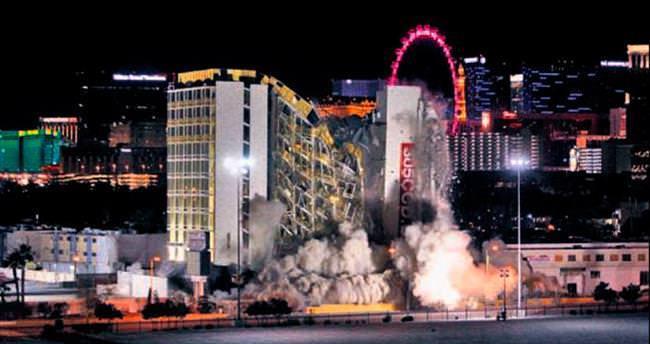 Emektar casino yıkıma direndi