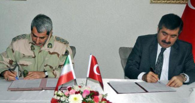 İran ile Türkiye arasında sınırda işbirliği