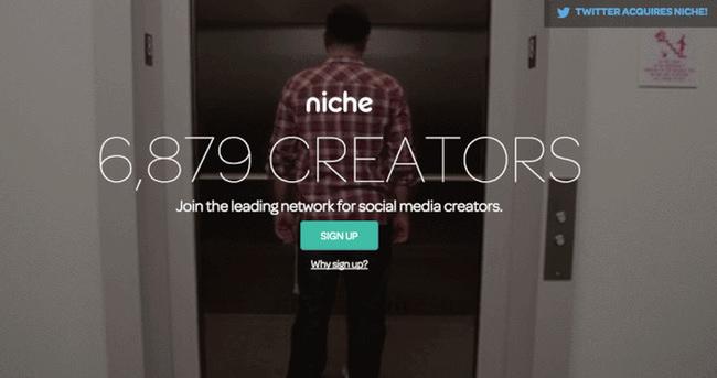 Twitter, Niche'yi satın aldı