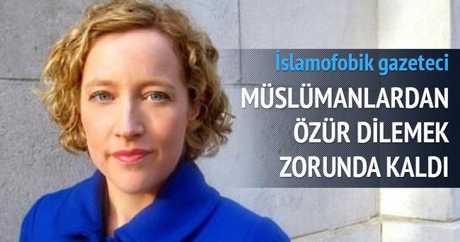 Müslümanları kızdıran İngiliz özür diledi