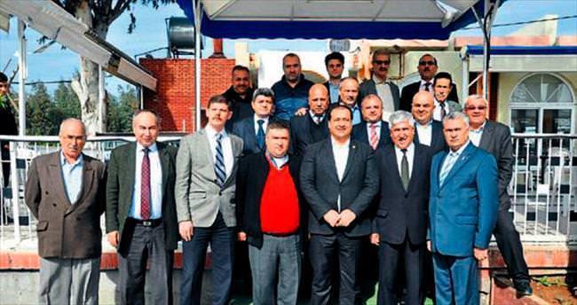 Milletvekili Uzun başkanlarla buluştu