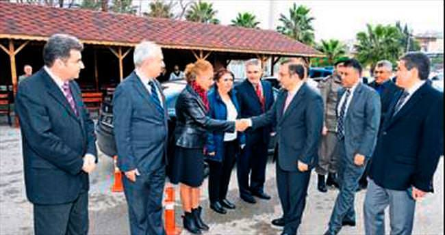 Vali Türker'in Kepez ziyareti
