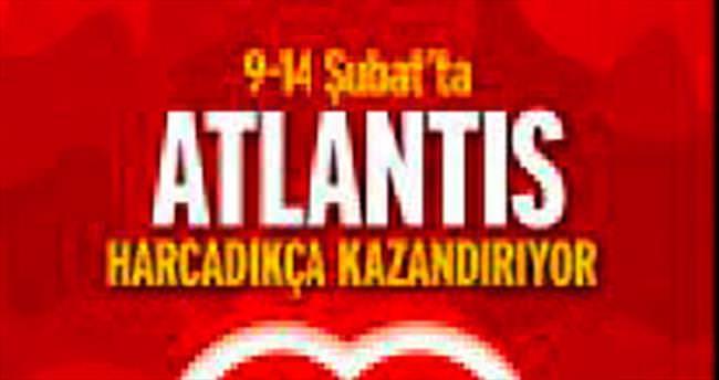 Atlantis AVM 'sevgililer'e özel
