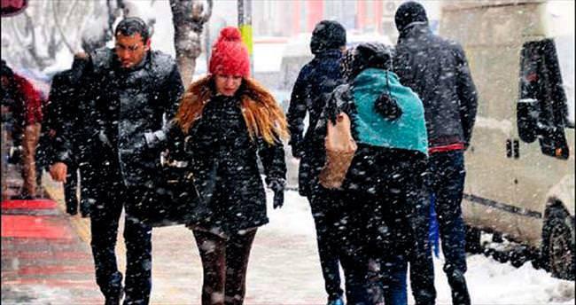 Kar İç Anadolu ve Doğu'ya kaydı