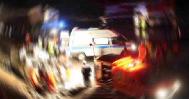 İşçi minibüsü kaza yaptı: 16 yaralı