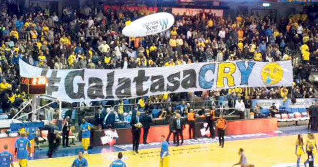 Galatasaray'ı çıldırtan pankart!