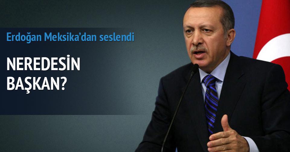 Erdoğan: ABD'den açıklama olmaması manidar