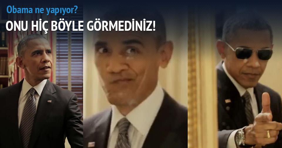 Obama gençlere uydu!
