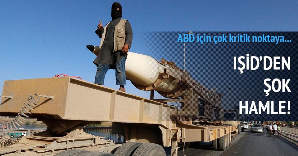 IŞİD stratejik kasabayı ele geçirdi