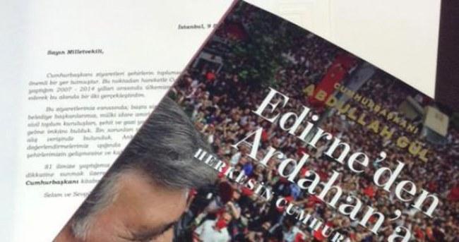 Abdullah Gül'den tüm vekillere mektup