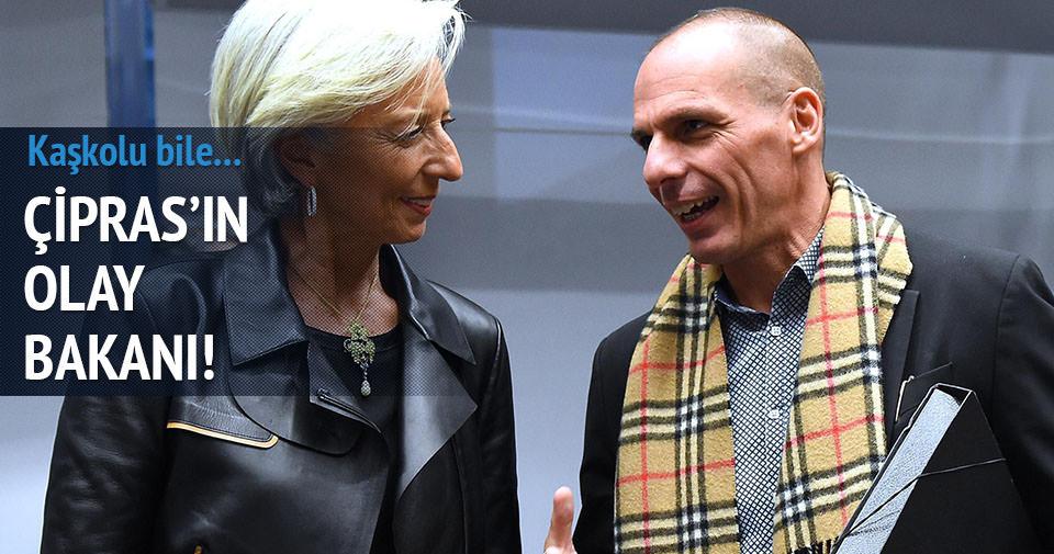 Yunan Maliye Bakanı gündeme oturdu