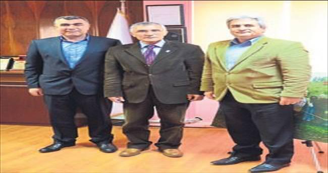 Başkanları kabul etti