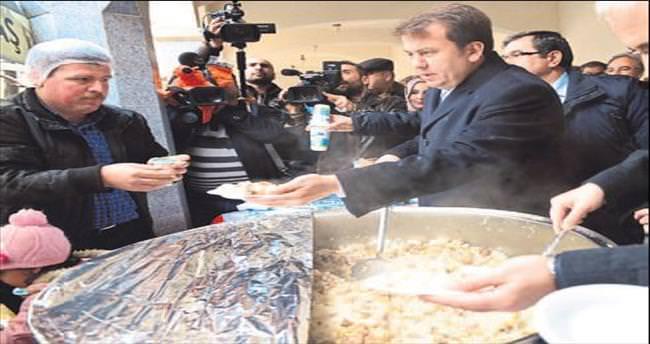 Başkan Erkoç'tan 'Kurtuluş pilavı'