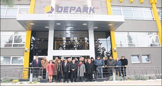 İZGEP Yönetim Kurulu DEPARK'a konuk oldu