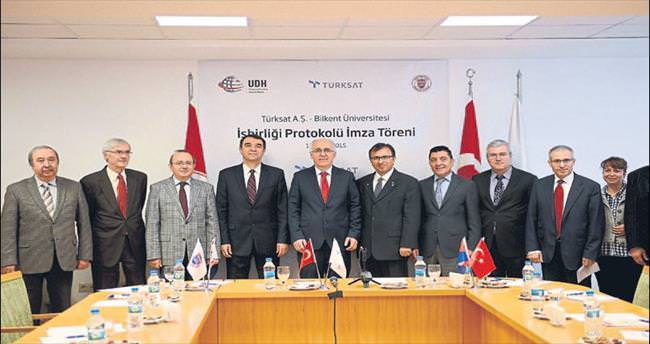 Türksat ve Bilkent Ar-Ge projelerinde işbirliği yapacak